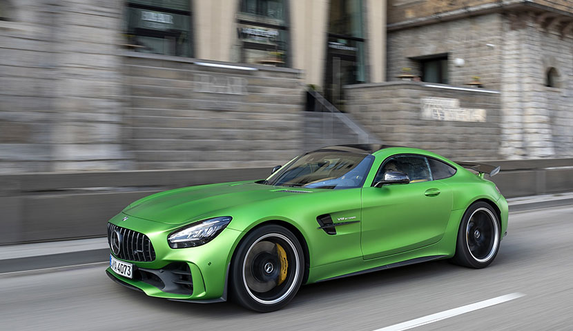 Mercedes Benz AMG GT R roadster