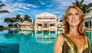 45 million dollar Celine Dion luxe house