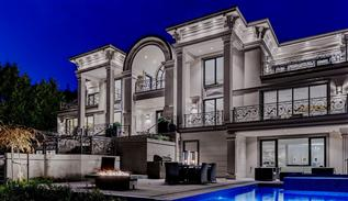 Exclusive European mansion in west Vancouver