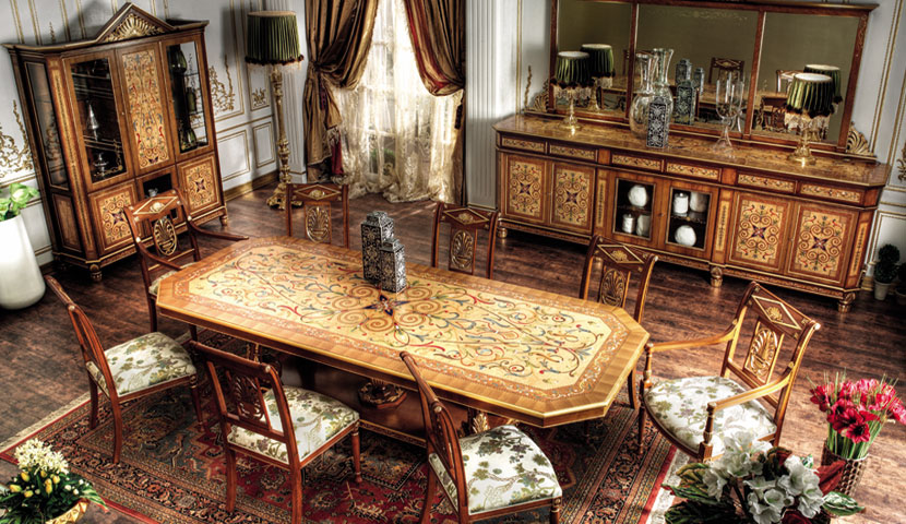 Asnaghi Dining Table