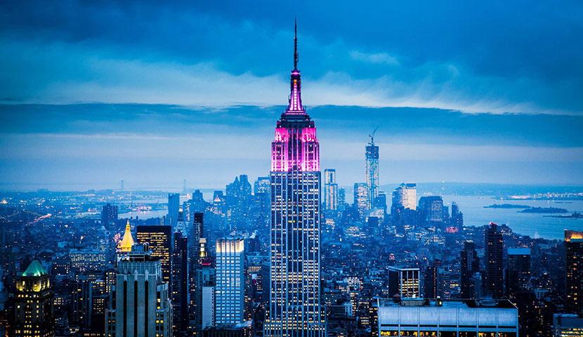 ساختمان امپایر استیت در نیویورک با تصاویر و تیزرهای با کیفیت و جذاب