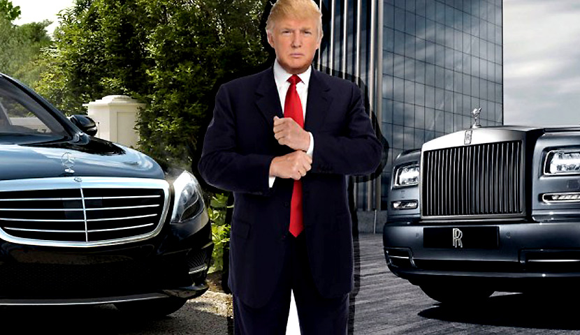 Donald Trump vehicle