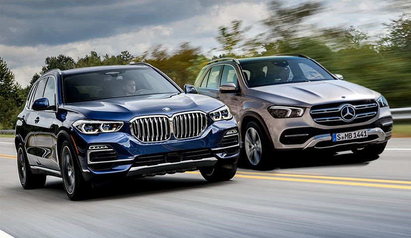 Mercedes Benz GLE ve BMW X5