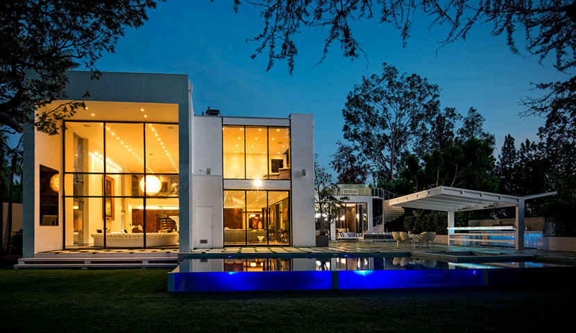 Modern house in Beverly Hills