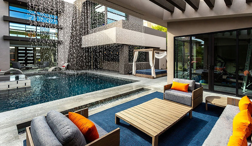 Luxe house decoration