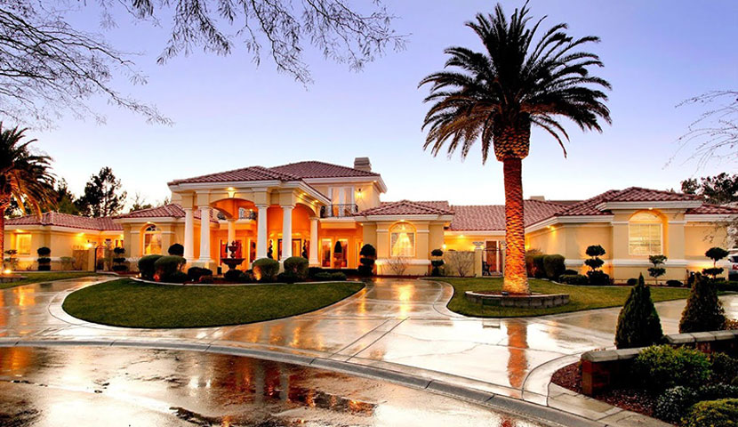 Luxe mansion in Las vegas