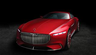 Mercedes-Benz Maybach 6 gösterimi