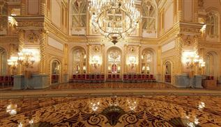 Kremlin interior luxury decoration