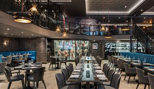 Luxury Interior of M Restaurant by Rene Dekker Design