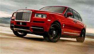 Cullinan the first luxury Rolls Royce SUV