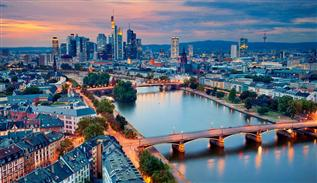 Frankfurt is the largest city of Hessen in Germany