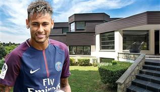 Neymar JR's house in Paris