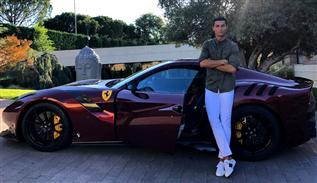 Cristiano Ronaldo's new cars collection in 2018