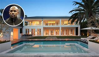Floyd Mayweather Los Angeles Home