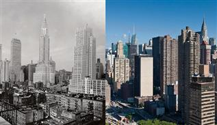 New York before and after