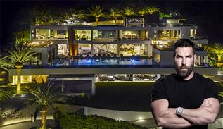New home of Dan Bilzerian in Los Angeles
