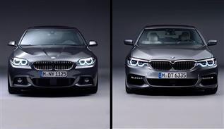 Comparison 6th and 7th Generation BMW 5 Series