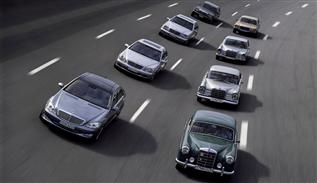 History of Mercedes Benz S class
