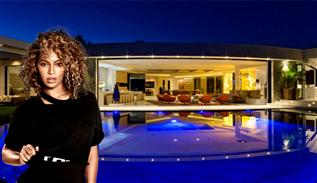 Beyonce house in Beverly Hills