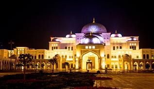 Presidential palace of Abu dhabi