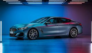 Unveiling of BMW 8 series gran coupe