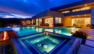Ridges modern house in Las Vegas