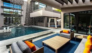 Luxe and modern house decoration in Las Vegas