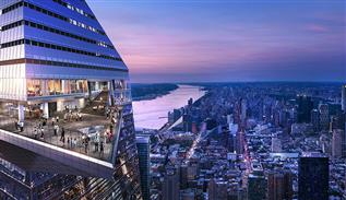 Hudson Yards Teasers terrace in New York