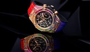 Hublot Rainbow luxe watch teaser