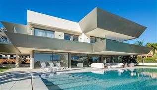 Luxe and modern house decoration in Marbella, Spain