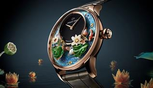 Jaquet Droz luxe watch