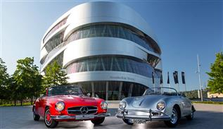 Visit the Mercedes-Benz museum