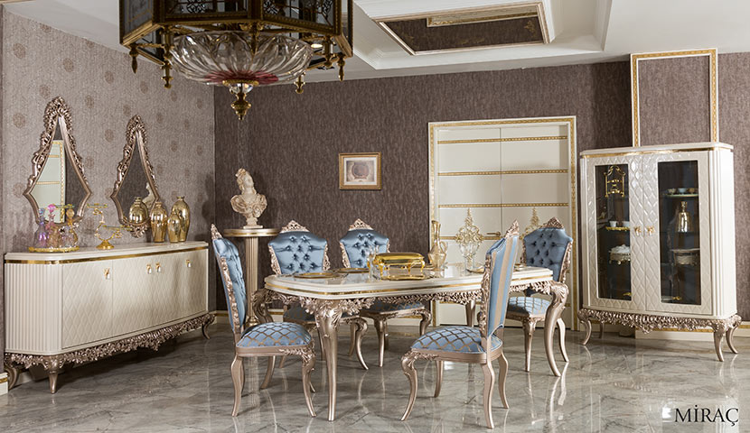 Turkish Classic Dining Tables