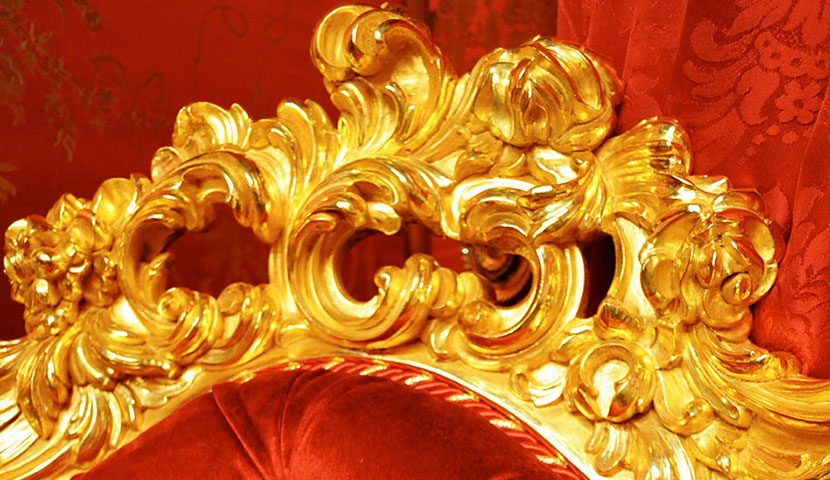 Italian Gold Leaf Furniture