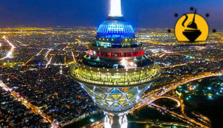 Milad tower revolving restaurant