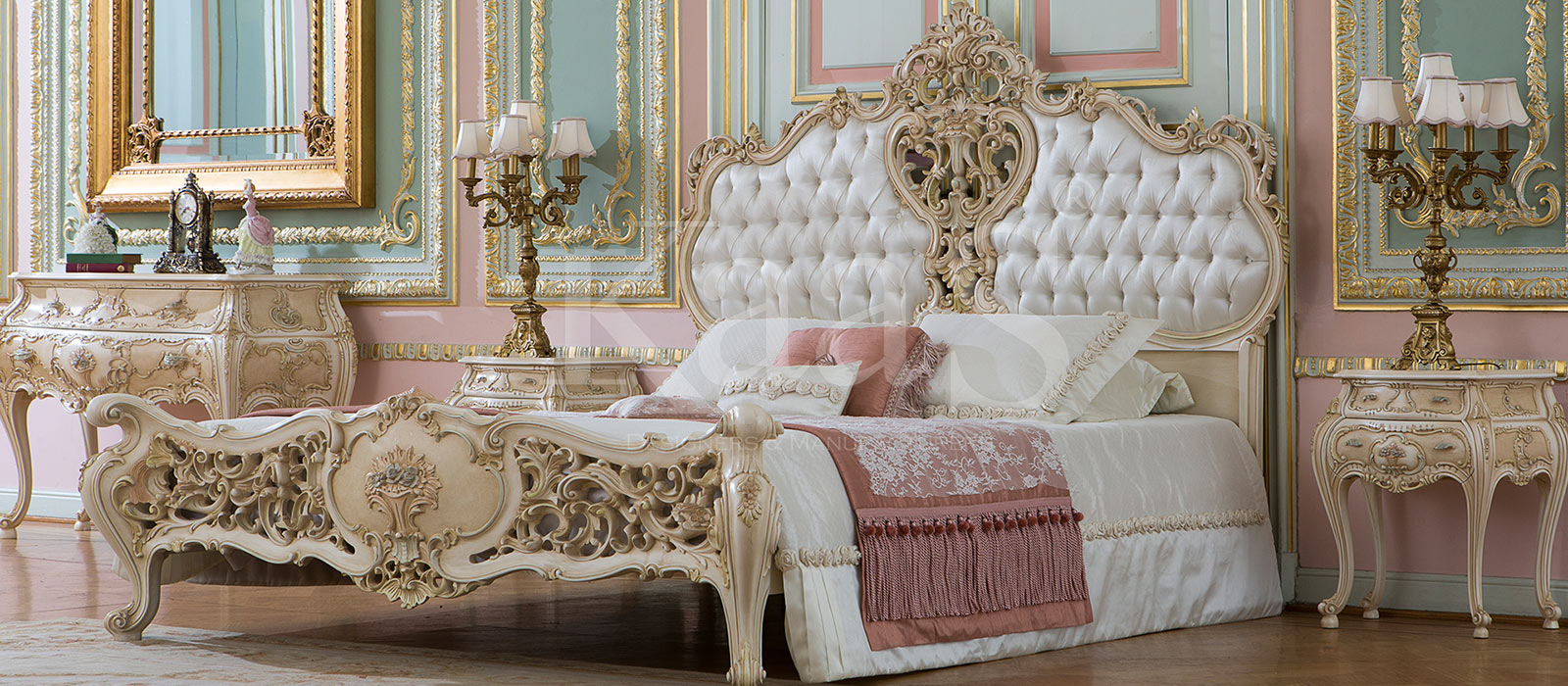 Kaas Classic Bed Set